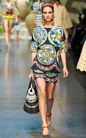 Dolce Gabbana proleće 2013