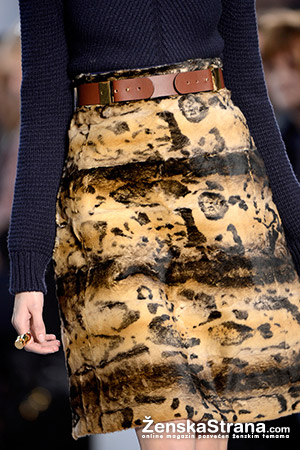 Chloe suknja sa leopard šarom