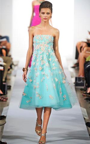 Romanticna haljina Oscar de la Renta
