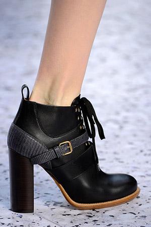 Chloe cipele sa debljom petom